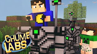 getlinkyoutube.com-Minecraft: INVASÃO ROBÔ! (Chume Labs 2 #14)