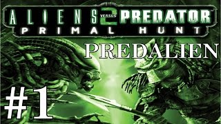 getlinkyoutube.com-Alien vs Predator 2: Primal Hunt (Predalien) Playthrough/Walkthrough part 1 [No commentary]
