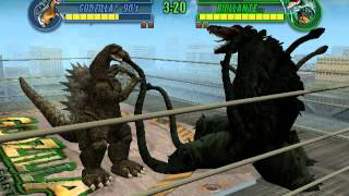 getlinkyoutube.com-Godzilla 90s vs Biollante