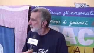 Il sindaco Accorinti dopo l'incontro e la fuga di Lo Monaco dal Comune