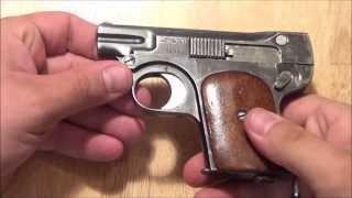 getlinkyoutube.com-OWA .25acp pistol Austrian