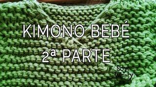 getlinkyoutube.com-Teje una chaqueta baby kimono con dos agujas 2ª parte