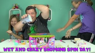 Wet and Crazy Shopkins Spin Day | Three 12 Packs!
