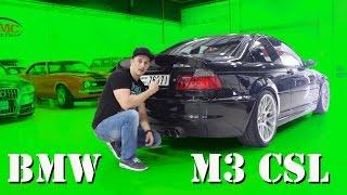 getlinkyoutube.com-BMW E46 M3 CSL Testfahrt   SimonMotorSport   Folge 229
