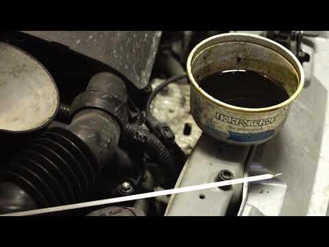 Toyota Passo двигатель 1KR-FE после 1500км на Syntolux L132
