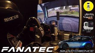 getlinkyoutube.com-DiRT Rally [Fanatec CSW V2 + Drift Rim] - Hyundai i20 Rally @ Finnland [SimXPerience]