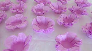 getlinkyoutube.com-Faça você mesmo formas de doces com papel crepom