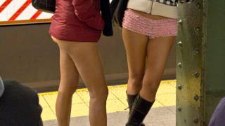 getlinkyoutube.com-No Pants Subway Ride 2012