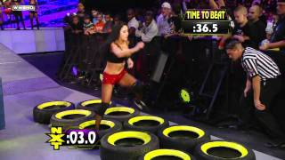 getlinkyoutube.com-WWE NXT: NXT Rookie Diva Challenge: Obstacle Course