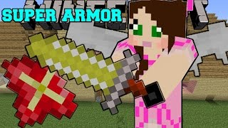 getlinkyoutube.com-Minecraft: SUPER ARMOR & WEAPONS! (INSANE ITEMS AND POWERS!) Mod Showcase