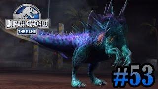 getlinkyoutube.com-Monolophosaurus battle stage!!!! | Jurassic World - The Game | #53
