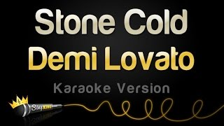 getlinkyoutube.com-Demi Lovato - Stone Cold (Karaoke Version)