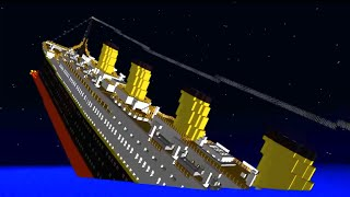 getlinkyoutube.com-MINECRAFT EL TITANIC HUNDIENDOSE