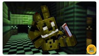 getlinkyoutube.com-If Springtrap Ate a Snickers (FNAF Minecraft Animation)