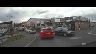 Chaos at McDonalds Bishop Auckland