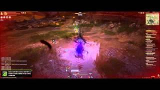 getlinkyoutube.com-Black Desert Sorcerer (Awakened) vs Ranger (Awakened) on KR