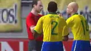 Pes 2008 Vieira diving cheat