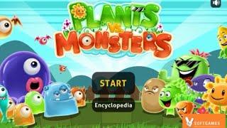Plants vs Monsters Walkthrough Gameplay (Level 1 - 10) by Kitsune Syo