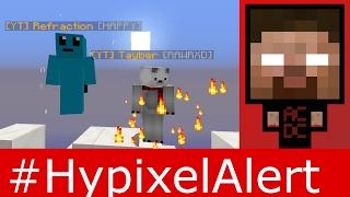 getlinkyoutube.com-Tayber and Refraction Got YOUTUBE Rank! #HypixelAlert New Minigame - Mydoeza - OrangeMarshall