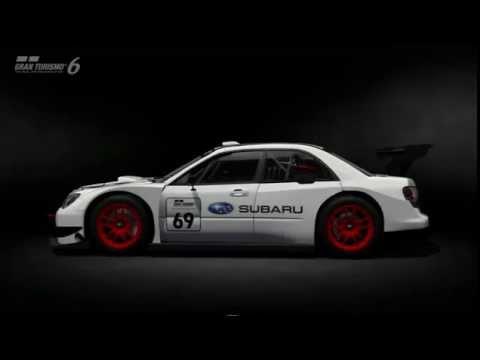GT6 SUBARU IMPREZA GT300 Base Model ano 2008 video 0050