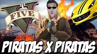 getlinkyoutube.com-GTA V - Piratas x Piratas batalha de carros e RAFA ENLOUQUECIDO