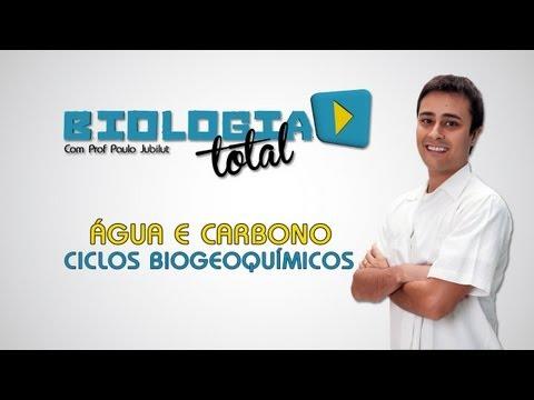 Água e Carbono - Ciclos Biogeoquímicos - Prof. Paulo Jubilut