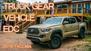 getlinkyoutube.com-Truck EDC / Vehicle Gear - Emergency Car Gear (2016 Tacoma)