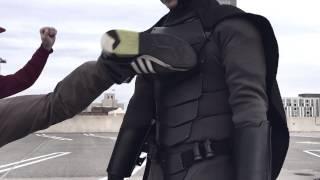 getlinkyoutube.com-Real Life Batsuit: Combat Armor