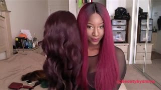 getlinkyoutube.com-Beautiful Lace Front Wig BISA (Janet collection)