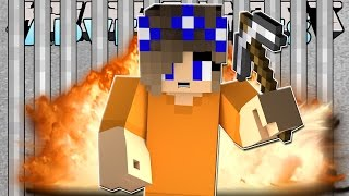 Minecraft-Little Carly Adventures-LITTLE CARLY BREAKS OUT OF PRISON w/Little Kelly.