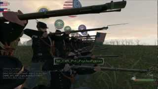 getlinkyoutube.com-North & South Mod 200 Men Mass Musket Volley