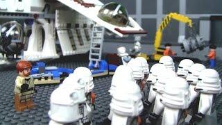 getlinkyoutube.com-Lego Star Wars Republic Hangar MOC