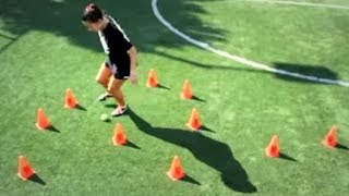 Soccer Fast Footwork and Moves | New Zealand National Player Ali Riley | BMS