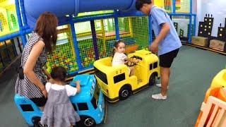 getlinkyoutube.com-꼬마버스 타요 키즈 카페 부산 어린이 놀이터 Tayo Bus Kids Cafe Busan
