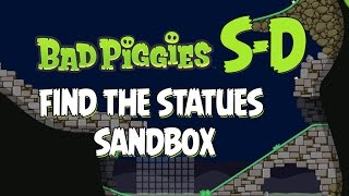 getlinkyoutube.com-Bad Piggies Sandbox S-D Statues Walkthrough How to Get All 20 Stars