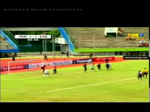 Persik Kediri V Sydney FC   2nd Half Highlights   12apr07