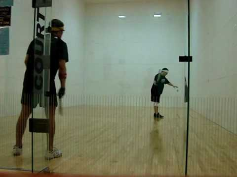 How to Play Racquetball - Game Play Analysis for Jeff