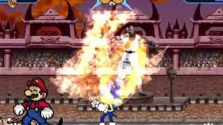 getlinkyoutube.com-MUGEN: Mario & Sonic Vs. Bosses