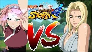 getlinkyoutube.com-Sakura Haruno Vs Tsunade [VS Series] [1080p 60 FPS] Naruto Shippuden Ultimate Ninja Storm 4