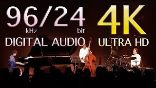 """Inner Bells""  MAYO NAKANO PIANO TRIO LIVE    4K Video 96kHz 24-bit / 192kHz Recording"