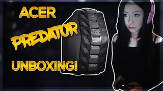 getlinkyoutube.com-My First Gaming Pc?! | Acer Predator G3 + LED Keyboard & Mouse Unboxing!