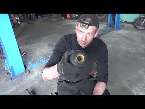 ... C3 (Ситроен Ц3) Замена амортизаторов, пружин, опорных подшипников, подушки