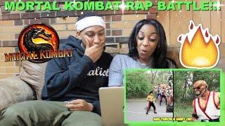 """Couple Reacts : """"MORTAL KOMBAT: EPIC RAP BATTLE!"""" By DashieXP Reaction!!"""