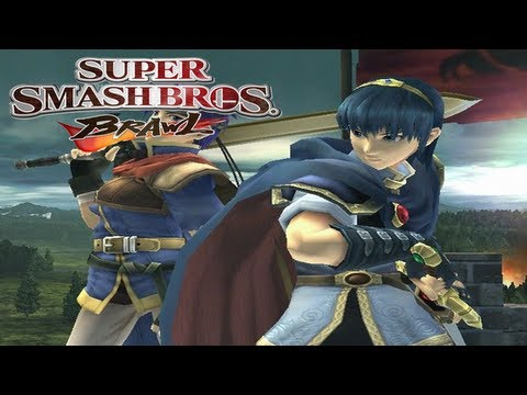 Super Smash Brothers Brawl LIVE #3 - vs REBEL