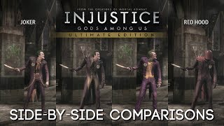 getlinkyoutube.com-[PC] Injustice: Gods Among Us | All costumes / outfits / skins