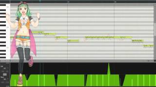 getlinkyoutube.com-【MEGPOID V4】Megu Megu☆Fire Endless Night/メグメグ☆フャイヤーエンドレスナイト + VSQx【VOCALOIDカバー】
