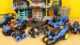 getlinkyoutube.com-Batman which Imaginext Batmobile - Robin vs Joker