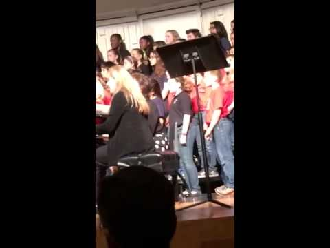 Krystina honor choir