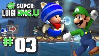 getlinkyoutube.com-New Super Luigi U - World 3 - Sparkling Waters 100% (2 Players)