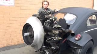 getlinkyoutube.com-Radial Engine Start Up Volkswagen